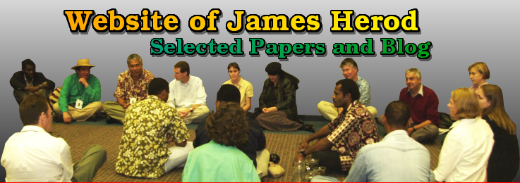 Welcome to the Website of James Herod